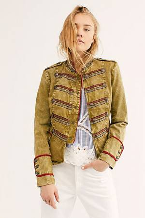 "Free People Military Jacket ""Naomi"""