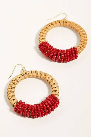 "Free People Hoop Earrings ""Manu Bay"""