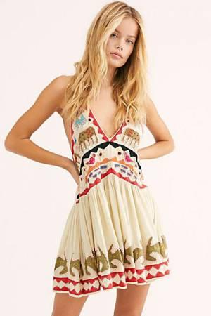 "Free People Mini Dress ""Lockheart"""