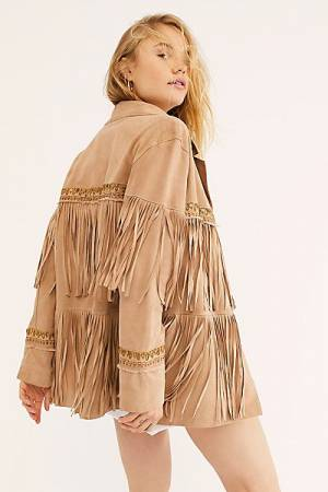 Brenda Knight Fringe Jacket