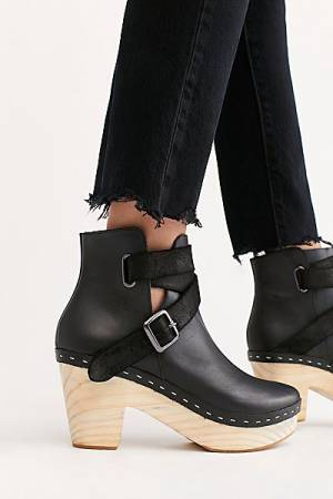 "Free People Clog Boot ""Bungalow"""