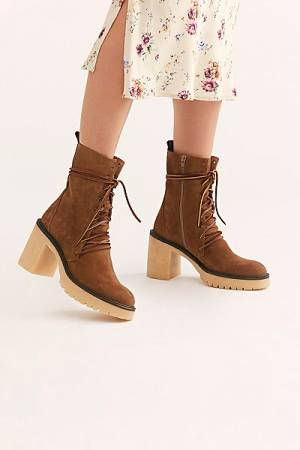 "Free People Boots ""Lace-Up Dylan"""