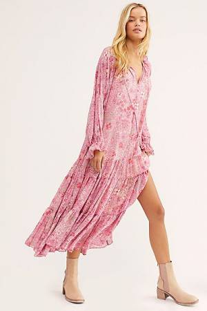 "Free People Maxi Dress ""Groovy Summertime"""