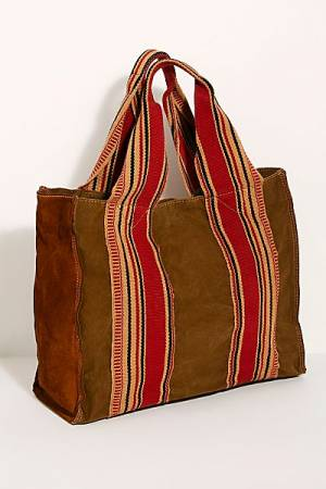Campomaggi Distressed Canvas Tote