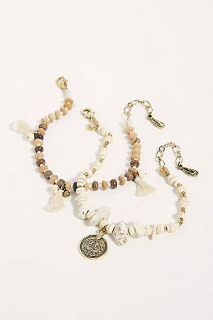 "Free People Anklet Set ""Baja"""