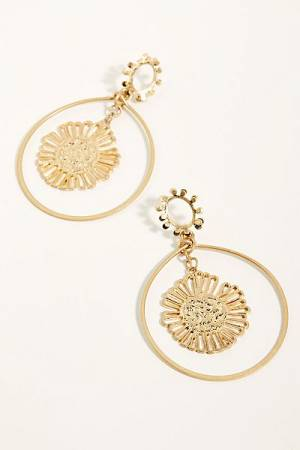 "Free People Hoop Earrings ""Saulsalito"""