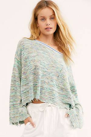 "Free People Sweater ""Spacedye"""