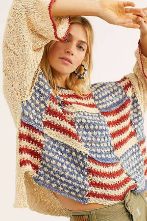 "Free People Sweater ""Liberty Pullover"""
