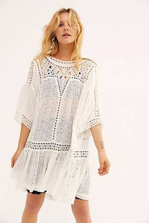 "Free People Tunic ""Boho Maxi Top"""