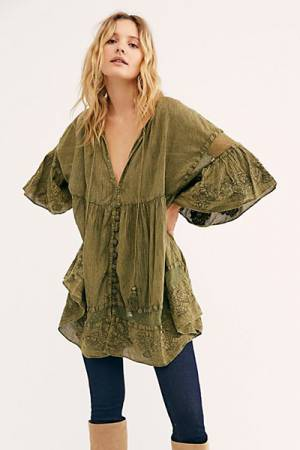 "Free People Tunic Dress ""Feeling Blue"""