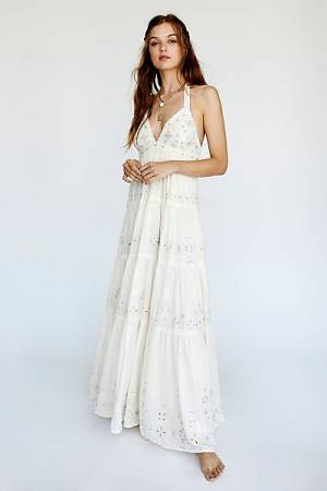 "Free People Gown ""Glitter Me Timbers"""