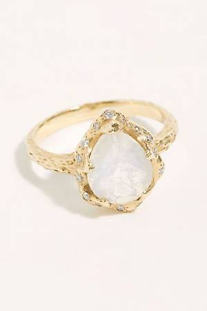 "Logan Hollowell Ring ""Moonstone"""
