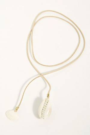 "Lena Bernard Wrap Necklace ""Shell"""