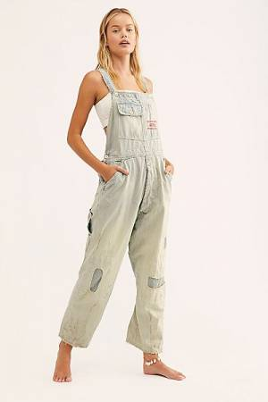 "Magnolia Pearl Denim Overalls ""Sanforized"""