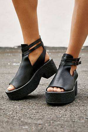 "Free People Platform Sandals ""Hallie"""