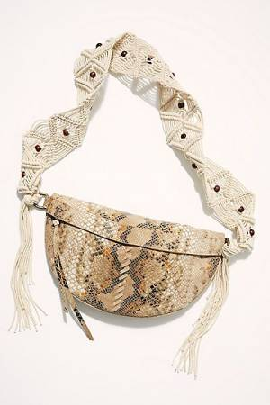 Free People Macramé Sling Bag