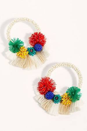 "Mishky Hoop Earrings ""Cartagena"""