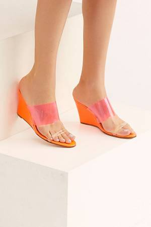 "NYLA Sandals ""Miami Breeze Wedges"""