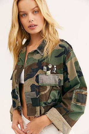 "Riley Vintage Camo Jacket ""Vegas Officer"""