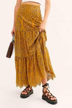 "JPB Maxi Skirt ""Mariachi Calypso"""