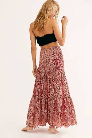 "Jen's Pirate Booty Maxi Skirt ""Mariachi Calypso"""