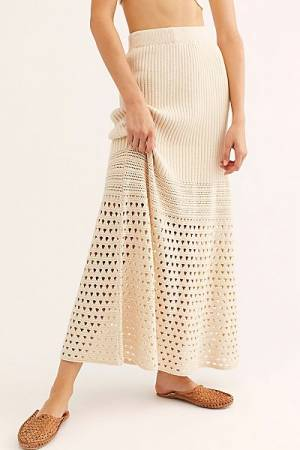 "Free People Maxi Skirt ""Free Falling"""