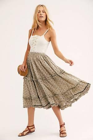 "Magnolia Pearl Skirt ""Pissarro"""