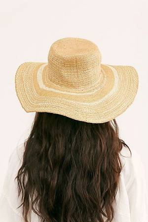 "Free People Straw Hat ""Shaea"""