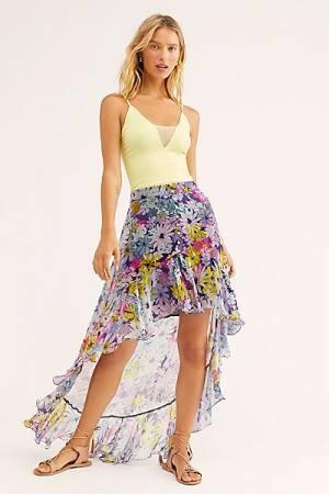 "Floral Maxi Skirt ""Tallia"""