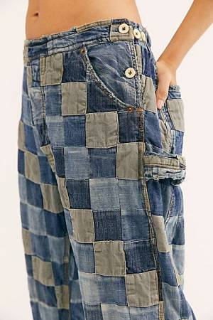 "Magnolia Pearl Jeans ""Patchwork"""
