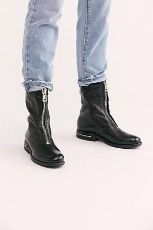 """A.S.98 Boots """"Jax Zip Front"""""""