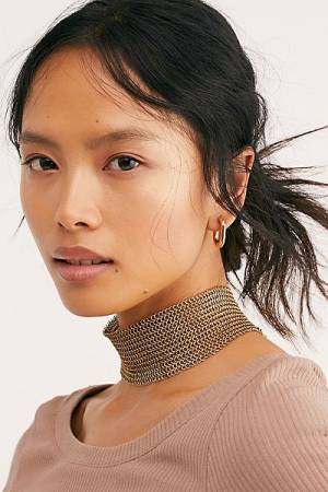 "Serefina Necklace ""Chainmail Choker"""