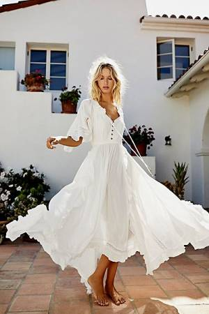 "Free People Maxi Dress ""Beach Bliss"""