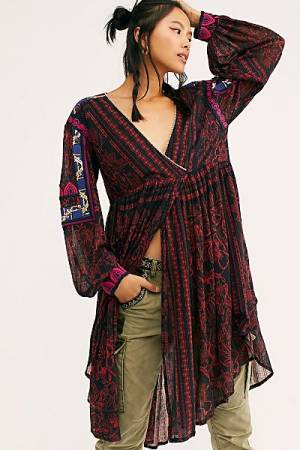 "Free People Tunic Dress ""City Limits"""