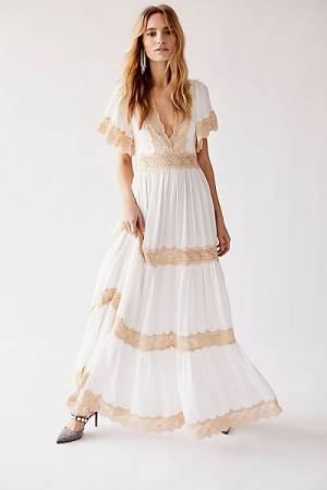 "Spell x Free People Maxi dress ""Ocean Gown"""
