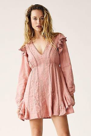 "Free People Mini Dress ""Rose Isabella"""