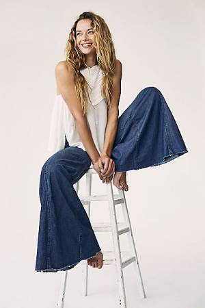 "Free People Jeans ""Extreme Vintage Flares"""