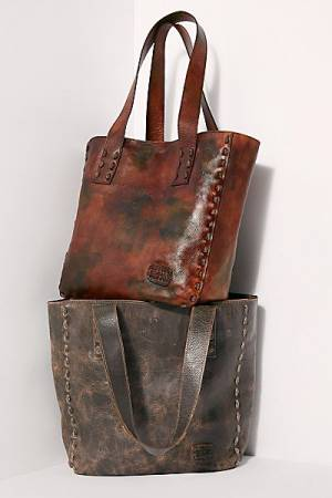 "Bed Stu Leather Tote Bag ""Stevie"""