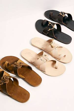 "Free People Sandals ""Sophie Slip-Ons"""