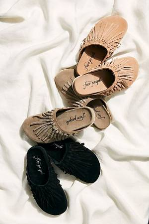 "Free People Slides Sandals ""Odessa"""