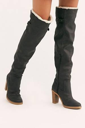"""Free People Boots """"Vegan Blake Heel Tall Boot"""""""