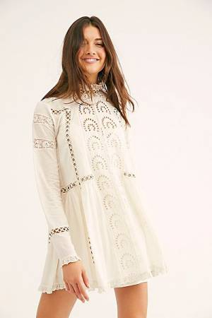"Free People Mini Dress ""All Eyes On You"""
