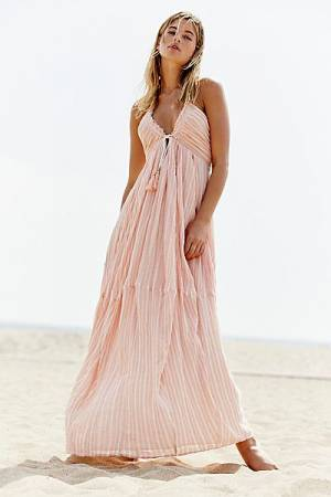 "Free People Maxi Dress ""Make A Splash"""