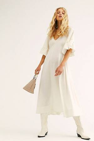 "Free People Midi Dress ""What A Stunner"""