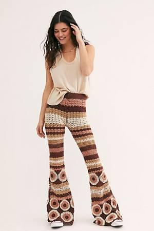 "Flook Flare Pants ""Grandpa Crochet"""