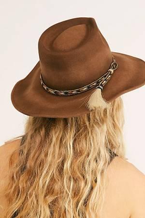 """'ale by Alessandra Felt Hat """"Brown Roxy Dene"""""""
