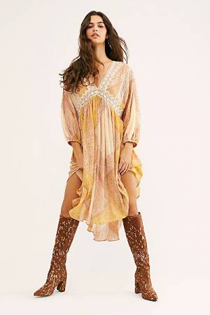 "Free People Tunic Top ""Moon Child Lakeside"""