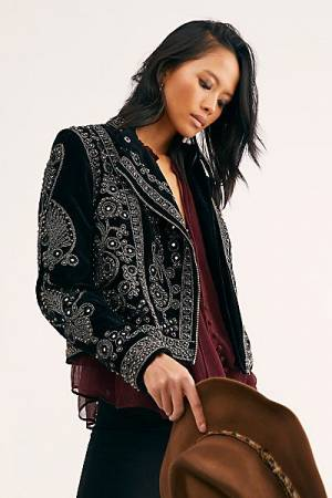 "Free People Jacket ""Snake Charmer"""