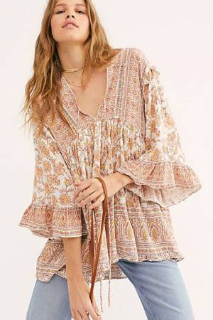 "Free People Top ""Moonlight Dance Tunic"""