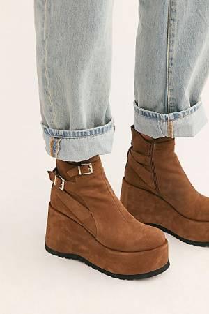 "Free People Ankle Boots ""Sabrina Platforms"""